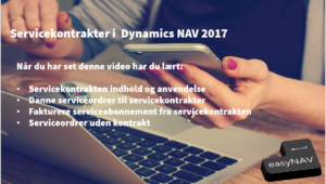 Service i Dynamics NAV 2017